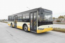 亚星牌JS6108GHEV16型插电式混合动力城市客车图片