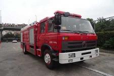 银河牌BX5130TXFGF30/D4型干粉消防车图片