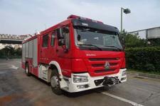 银河牌BX5190GXFAP50/HW4型A类泡沫消防车图片