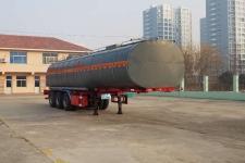 华昌牌QDJ9408GRYA型易燃液体罐式运输半挂车