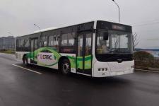 中国中车牌TEG6129EHEV12型插电式混合动力城市客车图片