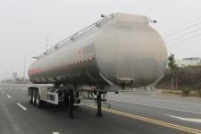 特运牌DTA9402GSY型铝合金食用油运输半挂车