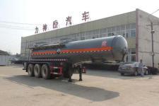 醒狮牌SLS9409GFWB型腐蚀性物品罐式运输半挂车图片