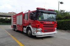 上格牌SGX5260GXFGP90型干粉泡沫联用消防车