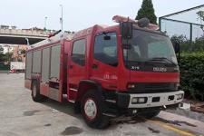 银河牌BX5160GXFPM60/W4型泡沫消防车图片