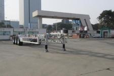 通华牌THT9405TJZB01型集装箱运输半挂车图片