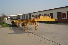 鲁驰牌LC9360TJZGA型集装箱运输半挂车图片