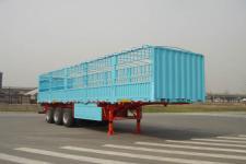 中集牌ZJV9390CLXTH型仓栅式运输半挂车图片