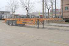 永康牌CXY9370TJZG型集装箱运输半挂车图片