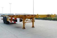 中集牌ZJV9350TJZ型集装箱运输半挂车图片