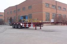 雄风牌SP9380TJZK型框架式集装箱运输半挂车图片