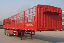 劲越10.5米32吨3仓栅式运输半挂车