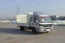 福田欧马可国四单桥仓栅式运输车143马力5吨以下(BJ5049V8CEA-FB)