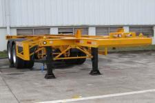 中集牌ZJV9350TJZSZ型集装箱运输半挂车图片
