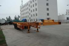 驼山牌WFG9401TJZ型集装箱运输半挂车图片