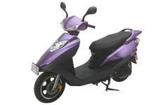 豪进牌HJ100T-5E型两轮摩托车图片
