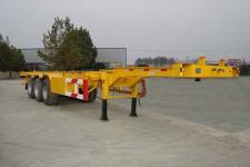 中集牌ZJV9401TJZDYA型集装箱运输半挂车图片
