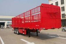 远东汽车12.5米32.5吨3仓栅式运输半挂车
