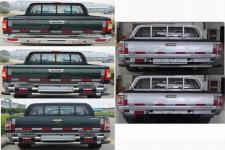 福田牌BJ1027V2MD5-XA型多用途货车图片