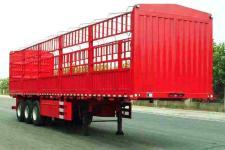 吉运牌MCW9400CCY型仓栅式运输半挂车