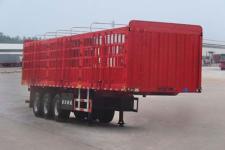 陆锋12.5米33.3吨3仓栅式运输半挂车
