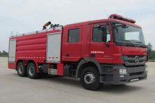 天河牌LLX5284GXFPM120/B型泡沫消防车