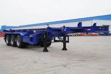 中集牌ZJV9401TJZSZ型集装箱运输半挂车图片
