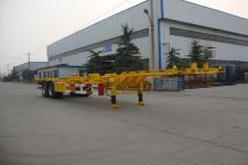梁山东岳牌CSQ9351TJZ型集装箱运输半挂车图片