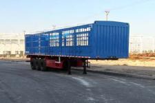 昌骅牌HCH9400CCY12Z1型仓栅式运输半挂车
