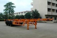 新日钢牌FFR9400TJZG型集装箱运输半挂车图片