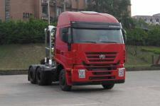 红岩牌CQ4256HTG384T型半挂牵引汽车图片