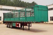 粱锋牌LYL9401CCY型仓栅式运输半挂车图片