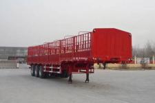 巨麟牌JJL9401CCY型仓栅式运输半挂车图片