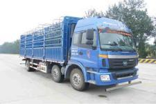 福田欧曼国四前四后四仓栅式运输车211-269马力10-15吨(BJ5252CCY-XB)