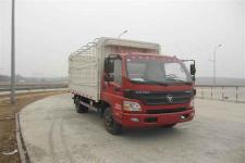 福田欧马可国四单桥仓栅式运输车118马力5吨以下(BJ5049CCY-F4)