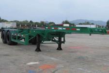 中集牌ZJV9351TJZSZ型集装箱运输半挂车图片