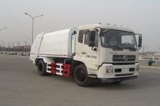 华林牌HLT5162ZYSD型压缩式垃圾车