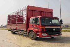 福田欧马可国四单桥仓栅式运输车170马力5-10吨(BJ5169CCY-F2)