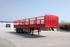 盛润牌SKW9407CCYA型仓栅式运输半挂车图片