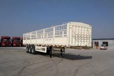 盛润牌SKW9400CCYA型仓栅式运输半挂车图片