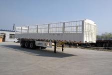 盛润牌SKW9408CCYA型仓栅式运输半挂车图片