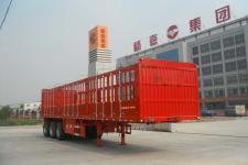 杨嘉牌LHL9402CCYA型仓栅式运输半挂车