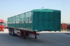 万事达牌SDW9402CCY型仓栅式运输半挂车