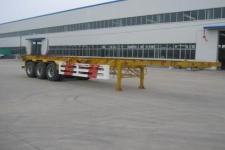 环陆牌LYT9400TJZ型集装箱运输半挂车图片