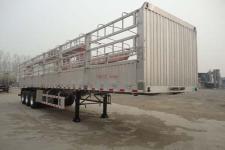 明航牌ZPS9400CCY型铝合金仓栅式运输半挂车图片