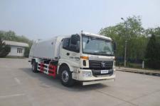 华林牌HLT5160ZYSE5型压缩式垃圾车