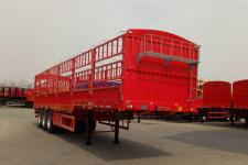 华鲁业兴牌HYX9400CCYE型仓栅式运输半挂车
