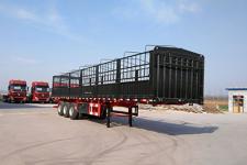 盛润牌SKW9381CCYA型仓栅式运输半挂车图片