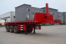 路飞9米31.5吨3轴平板自卸半挂车(YFZ9401ZZXP)