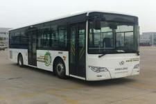 金龙牌XMQ6106AGHEV15型混合动力城市客车图片